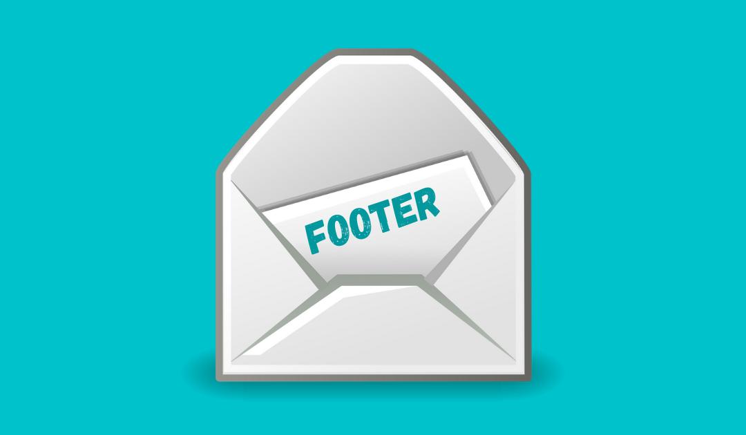 Какво се пише във Footer на имейл?